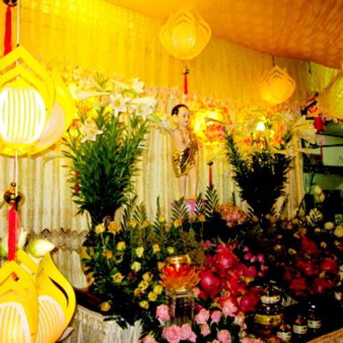 Phật đản, Quan Âm tu viện tổ chức 2 cuộc thi