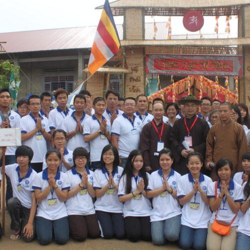 """Khai mạc Hội Trại """"Tuổi Trẻ Vĩnh Nghiêm"""" lần II – 2013"""