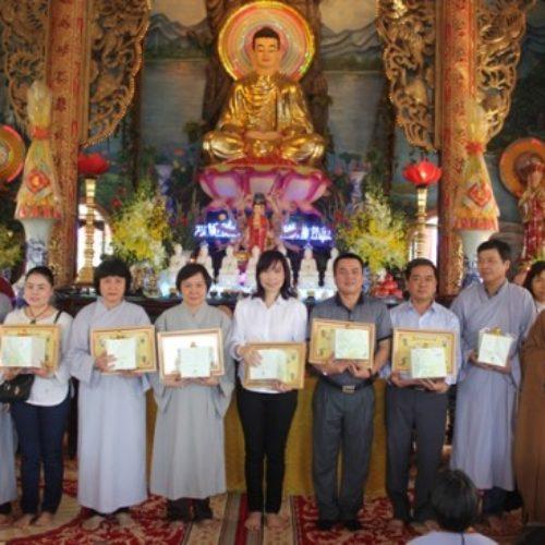 Quan Âm Tu Viện tổ chức Lễ Chúc Thọ cho Phật tử