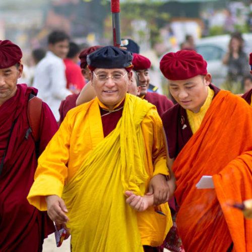 Hàng vạn người dự lễ cầu an của Pháp Vương Drukpa
