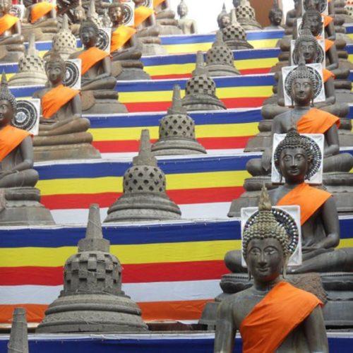 Chùm ảnh: Phật đản an lành trên khắp thế giới