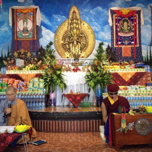 Chùm ảnh về Lễ Changwa cầu siêu chuyển di tâm thức
