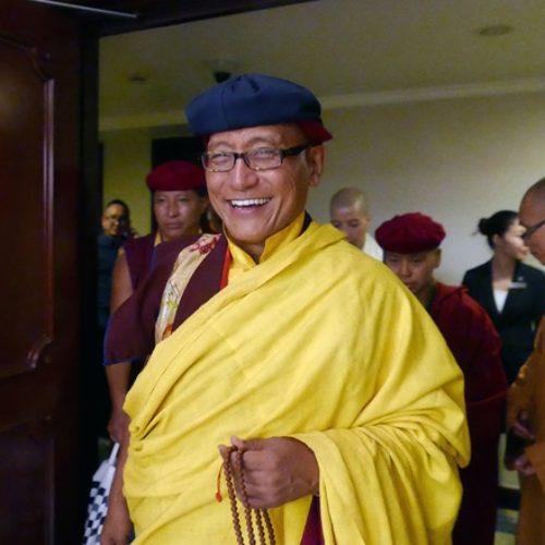 Pháp Vương Drukpa truyền thông điệp Hoà bình tới người dân VN