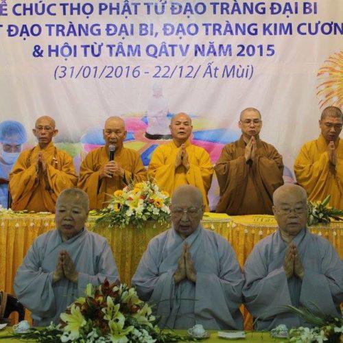 Quan Âm Tu Viện (Q.Phú Nhuận) tổng kết Phật sự 2015