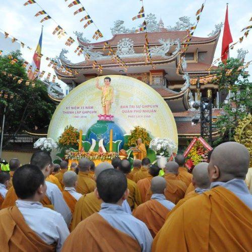 Ban trị sự GHPGVN Quận Phú Nhuận đã long trọng cử hành lễ kính mừng Phật Đản PL. 2560 – DL2016