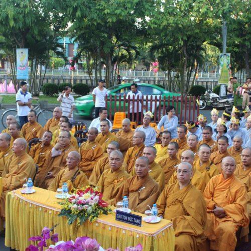 BTS GHPGVN Q.Phú Nhuận long trọng tổ chức Đại lễ Phật đản PL.2562 tại Quan Âm Tu Viện