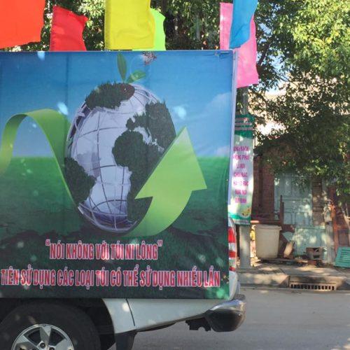 Quan Âm Tu Viện hưởng ứng ngày hội phân loại rác thải