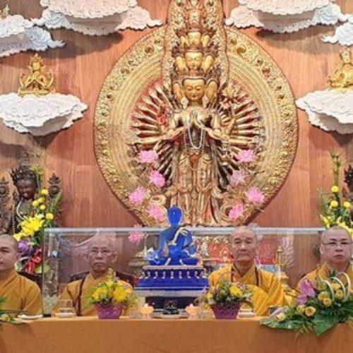Quan Âm tu viện Tổng kết hoạt động Phật sự 2018