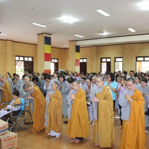 Quan Âm Tu Viện tổ chức viếng cảnh chùa đầu xuân Kỷ Hợi
